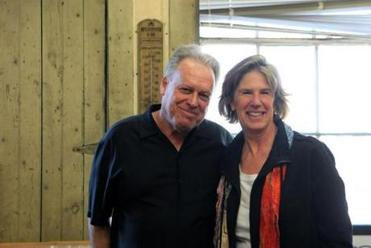 Mark Furman and Mimi Younkins, owners of R. Murphy Knives.